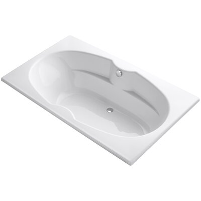 Proflex 72 x 42 Soaking Bathtub Sink Finish: White