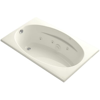 Proflex 60 x 36 Whirlpool Bathtub Finish: Biscuit