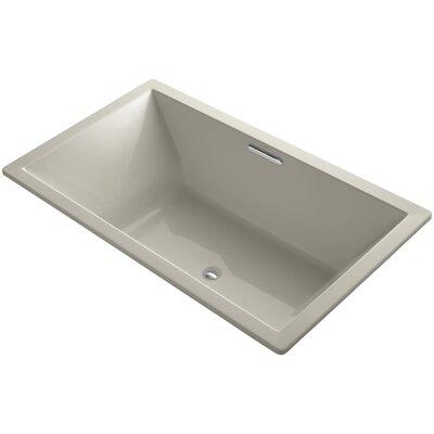 Underscore 72 x 42 Soaking Bathtub Finish: Sandbar