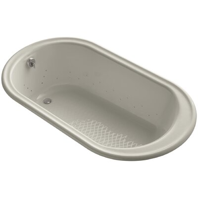 Iron Works 66 x 36 Air Bathtub Finish: Sandbar, Jet Finish: Brushed Nickel