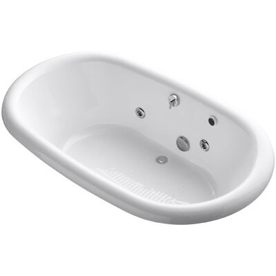 Vintage 72 x 42 Whirlpool Bathtub Finish: White
