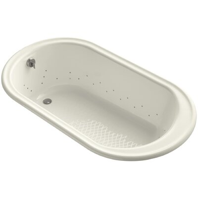 Iron Works 66 x 36 Air Bathtub Finish: Biscuit, Jet Finish: Brushed Nickel