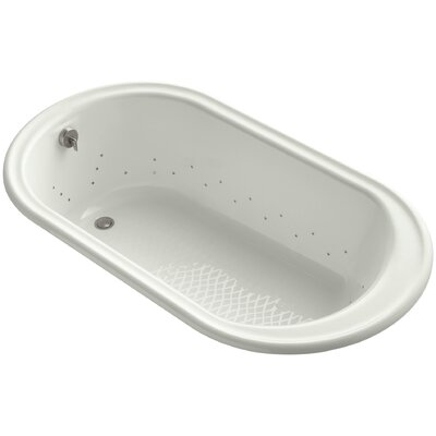 Iron Works 66 x 36 Air Bathtub Jet Finish: Brushed Nickel, Finish: Dune