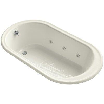 Iron Works 66 x 36 Whirlpool Bathtub Finish: Biscuit