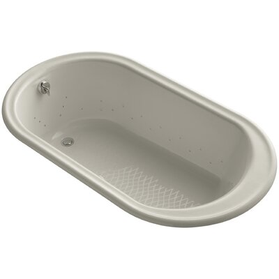 Iron Works 66 x 36 Air Bathtub Finish: Sandbar, Jet Finish: Polished Nickel