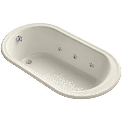 Iron Works 66 x 36 Whirlpool Bathtub Finish: Almond