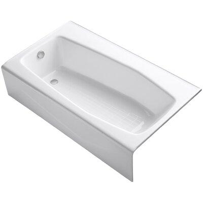 Villager Alcove 60 x 34 Soaking Bathtub Finish: White