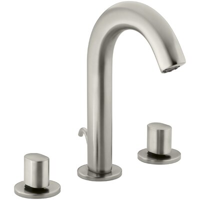 Oblo Widespread Bathroom Sink Faucet Finish: Vibrant Brushed Nickel