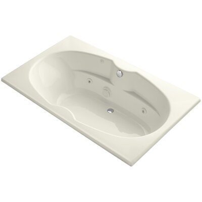 Proflex 72 x 42 Whirlpool Bathtub Finish: Biscuit