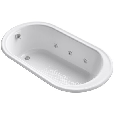 Iron Works 66 x 36 Whirlpool Bathtub Finish: White
