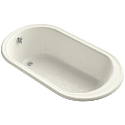 Iron Works 66 x 36 Air Bathtub Finish: Biscuit, Jet Finish: Biscuit