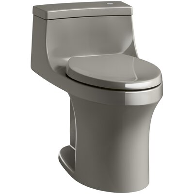 San Souci Impressions Souci Comfort Height One Piece Compact Elongated Touchless Toilet with Aquapiston Flushing Technology Finish: Cashmere
