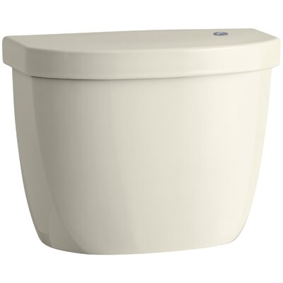 Cimarron Tank for K-6419 Round-Front Touchless Toilet Finish: Almond