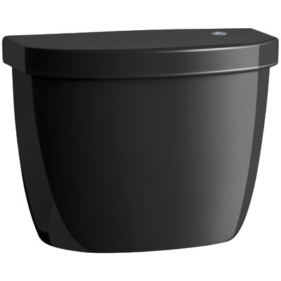 Cimarron Tank for K-6419 Round-Front Touchless Toilet Finish: Black Black