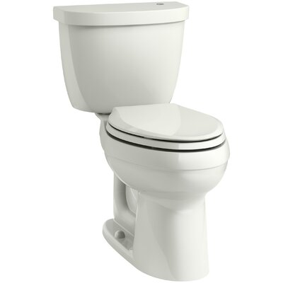 Cimarron Comfort Height 1.28 GPF Elongated Two-Piece Toilet Finish: Dune