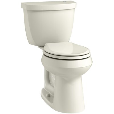 Cimarron 2 Piece Touchless Toilet with Aquapiston Flushing Technology Finish: Biscuit