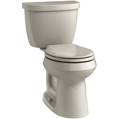 Cimarron 2 Piece Touchless Toilet with Aquapiston Flushing Technology Finish: Sandbar