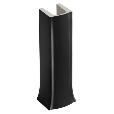 Archer Pedestal Only Finish: Black Black