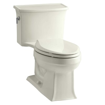 Archer 1.28 GPF Elongated One-Piece Toilet Finish: Biscuit