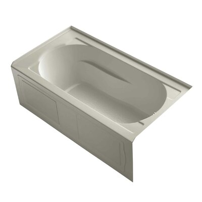 Devonshire Alcove 60 x 32 Soaking Bathtub Finish: Sandbar