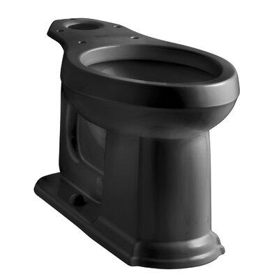 Devonshire Comfort Height Elongated Bowl Finish: Black Black