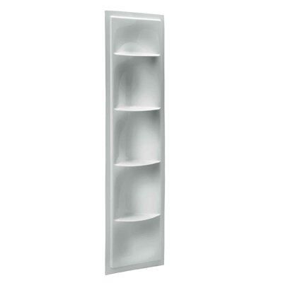 Echelon 17.38 W x 61.88 H Shelving Finish: Ice Grey