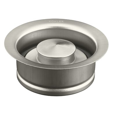 Disposal Flange with Stopper Finish: Vibrant Brushed Nickel