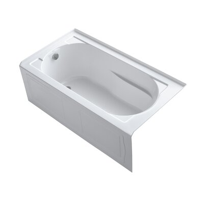 Devonshire tub 60 x 32 Soaking Bathtub Finish: White