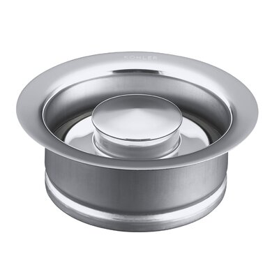 Disposal Flange with Stopper Finish: Polished Chrome