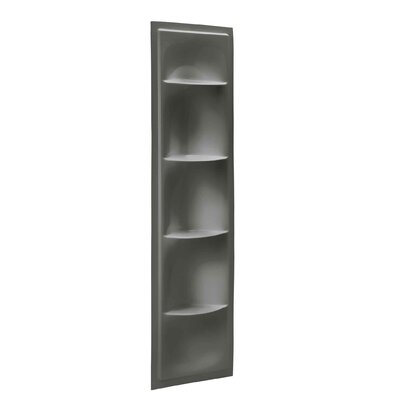 Echelon 17.38 W x 61.88 H Shelving Finish: Thunder Grey