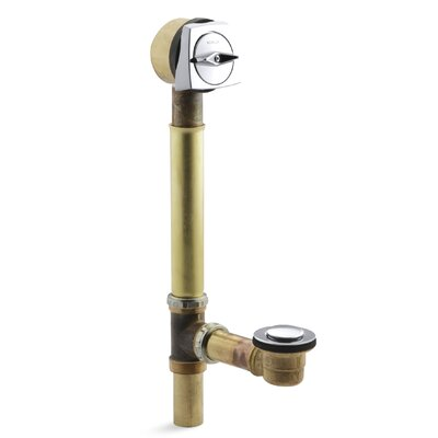 Sok 3.68 Trip Lever Bathroom Sink Drain With Overflow Finish: Vibrant Brushed Nickel