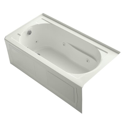 Devonshire Alcove 60 x 32 Whirpool Bathtub Finish: Dune
