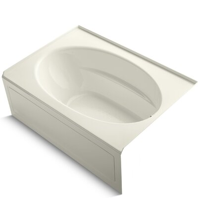 Windward 60 x 42 Air Bathtub Finish: Biscuit