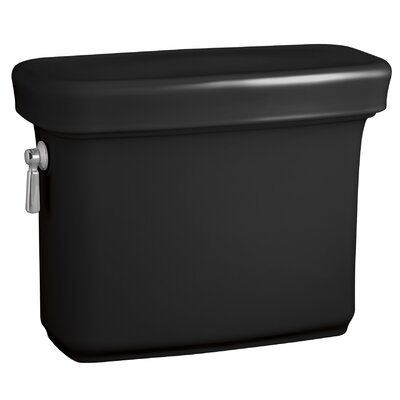 Bancroft 1.28 GPF Toilet Tank Finish: Black Black