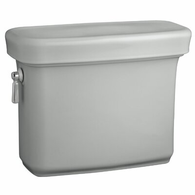 Bancroft 1.28 GPF Toilet Tank Finish: Ice Grey