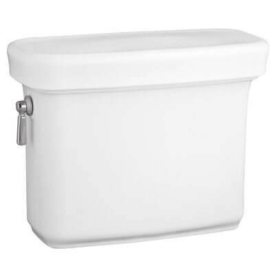 Bancroft 1.28 GPF Toilet Tank Finish: White