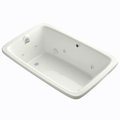Bancroft 66 x 42 Whirlpool Bathtub Finish: Dune