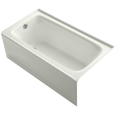 Bancroft Alcove 60 x 32 Soaking Bathtub Finish: Dune