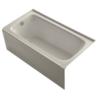 Bancroft Alcove 60 x 32 Soaking Bathtub Finish: Sandbar