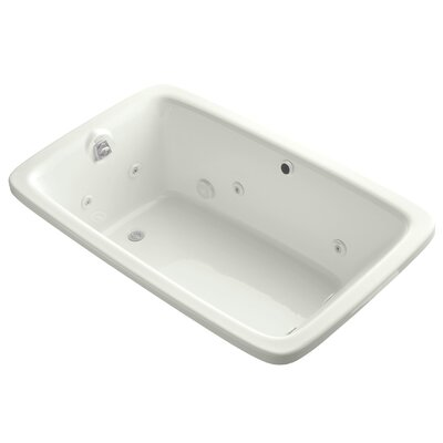 Bancroft 66 x 42 Air / Whirlpool Bathtub Finish: Dune