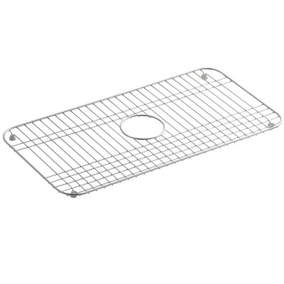 Bakersfield Stainless Steel Sink Rack, 25 x 12-3/4 Finish: Stainless Steel
