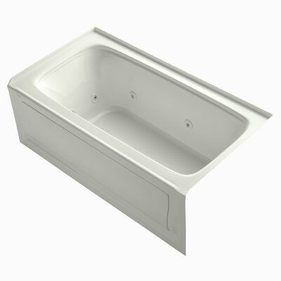 Bancroft 60 x 32 Whirlpool Bathtub Finish: White