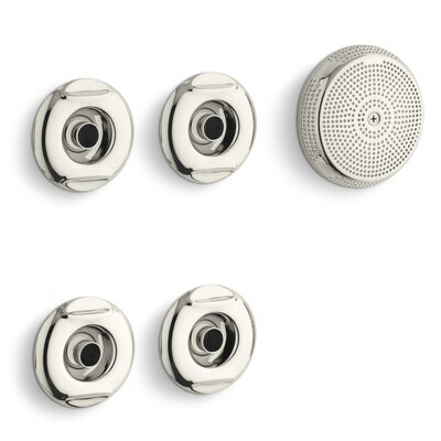 Flexjet Whirlpool Trim Kit with Four Jets Finish: Vibrant Polished Nickel