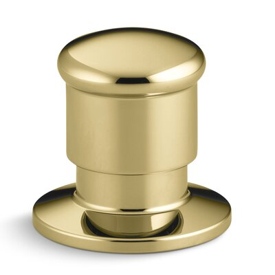 Deck-Mount Two-Way Diverter Valve Finish: Vibrant Polished Brass