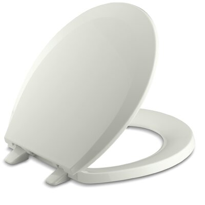 Lustra with Quick-Release Hinges Round-Front Toilet Seat Finish: Dune