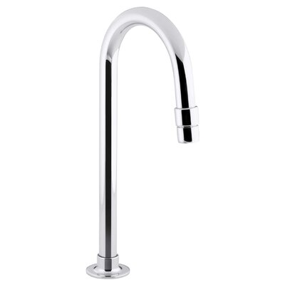 Bathroom Sink Gooseneck Spout with Aerator