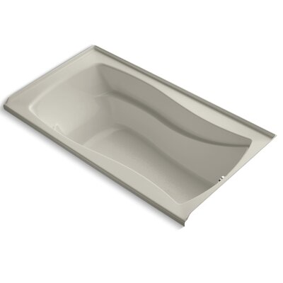 Mariposa Alcove 66 x 36 Soaking Bathtub Finish: Sandbar