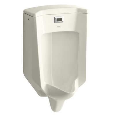 Bardon Touchless Washout Wall-Mount 1/2 GPF Urinal Finish: Biscuit
