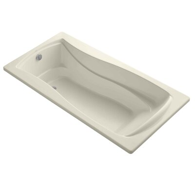 Mariposa 72 x 36 Soaking Bathtub Finish: Almond