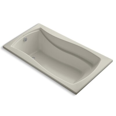 Mariposa 66 x 36 Soaking Bathtub Finish: Sandbar